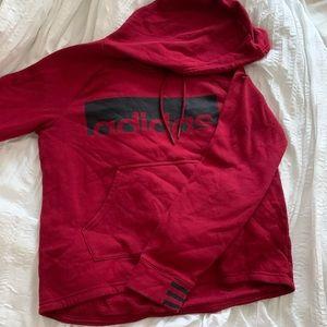 Maroon Adidas Sweatshirt